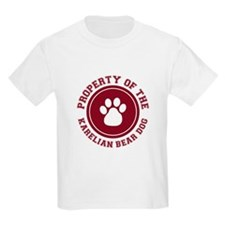 Karelian Bear Dog Kids T-Shirt