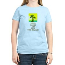 Keep Calm and go to the Beach T-Shirt