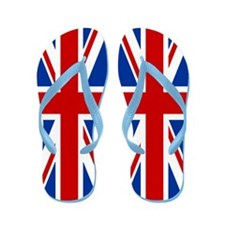Union Jack Flip Flops