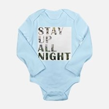 stay up all night Body Suit