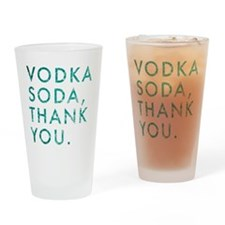 voda soda, thank you Drinking Glass