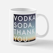 voda soda, thank you Mug