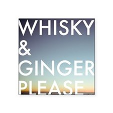 whisky and ginger, please Sticker