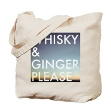 whisky and ginger, please Tote Bag