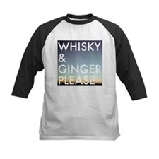 whisky and ginger, please Baseball Jersey