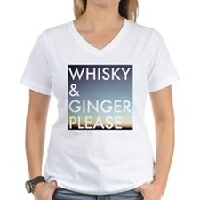 whisky and ginger, please T-Shirt