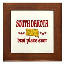 South Dakota Best Framed Tile