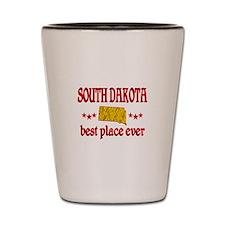 South Dakota Best Shot Glass