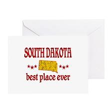 South Dakota Best Greeting Card