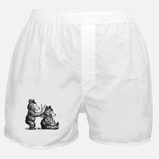 Beary Nice Haircut Boxer Shorts