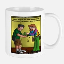 Scoring A Gram Of Hashtags Mug
