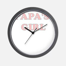 PAPAS GIRL Wall Clock