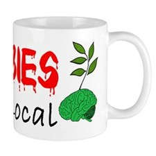 Zombies Eat Local Mug