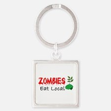 Zombies Eat Local Keychains