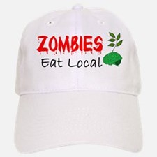 Zombies Eat Local Baseball Baseball Baseball Cap
