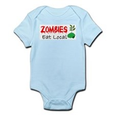 Zombies Eat Local Body Suit