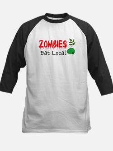 Zombies Eat Local Baseball Jersey