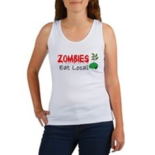 Zombies Eat Local Tank Top