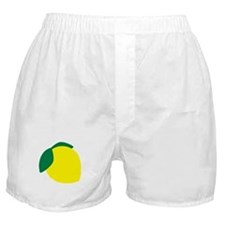 Lemon Boxer Shorts