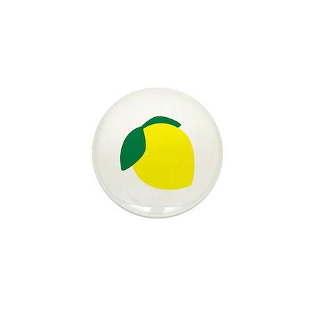Lemon mini button by teedepartment for Lemon button