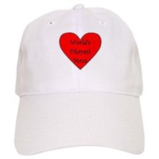 World's Okayest Mom Baseball Baseball Cap