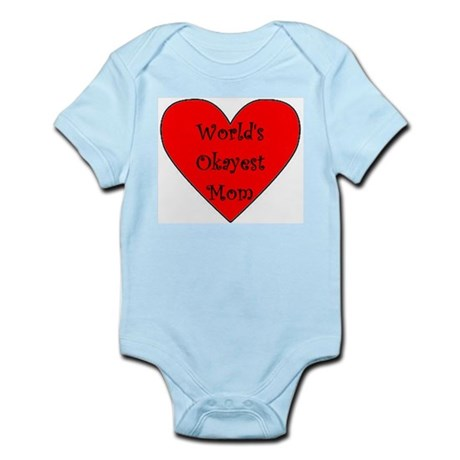 World's Okayest Mom Body Suit
