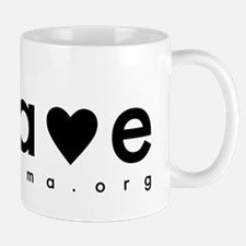 BRAVE(heat) Black Mug