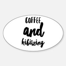 Coffee and Kibitzing Decal