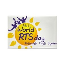 World RTS Day Rectangle Magnet