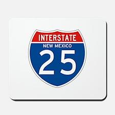Interstate 25 - NM Mousepad