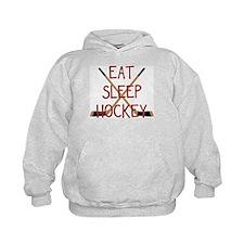 Eat Sleep Hockey Hoody