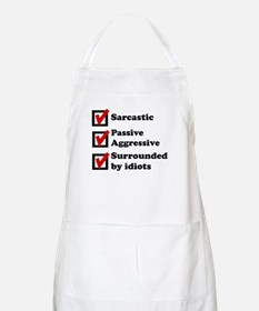 Surrounded By Idiots Apron