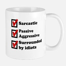 Surrounded By Idiots Mug