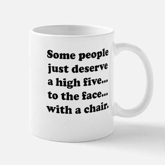High Five To The Face Mug
