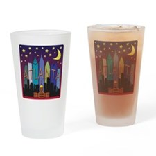 Atlanta Skyline mega color Drinking Glass