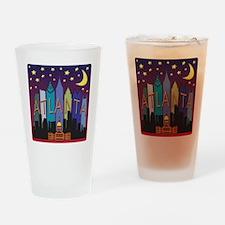 Atlanta Skyline mega color Drinking Glass