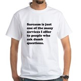 Funny sayings Mens White T-shirts