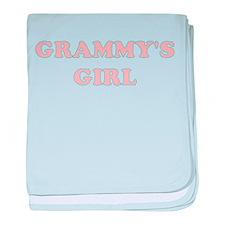 GRAMMYS GIRL baby blanket