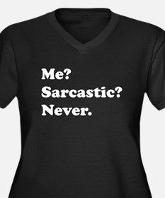 Sarcastic Plus Size T-Shirt