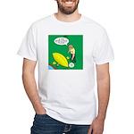 Kayak Rolling White T-Shirt