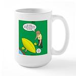 Kayak Rolling Large Mug