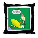 Kayak Rolling Throw Pillow