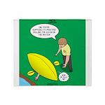Kayak Rolling Throw Blanket