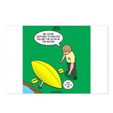 Kayak Rolling Postcards (Package of 8)