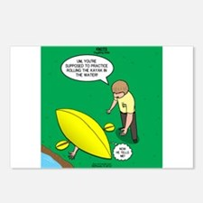 Kayak Rolling Postcards (Package of 8)