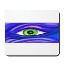 Green Eye Mousepad