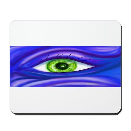 Green Eye Mousepad