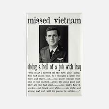Pilot Dubya A.W.O.L. Rectangle Magnet (100 pack)