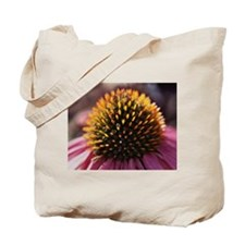 Sunlit Coneflower Tote Bag