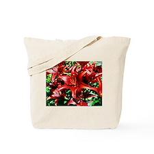 Redburst Tote Bag